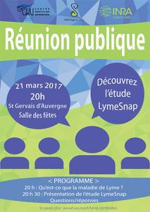 LymeSnap Réunion Publique