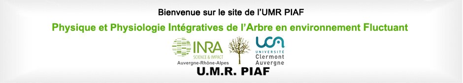 Bienvenue sur le site de l'UMR PIAF