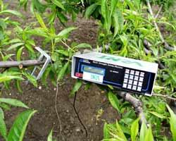 sensor for the ultrasonic emissions