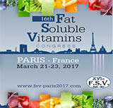 XVIe Fat Soluble Vitamins Congrès